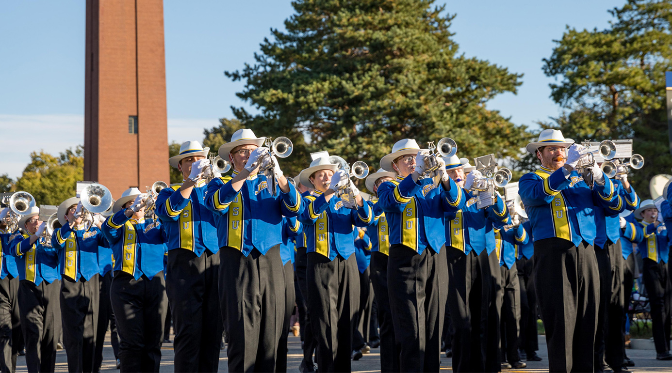Featured Image for SDSU's Pride of the Dakotas to march in 2022 Macy's Thanksgiving Day Parade®