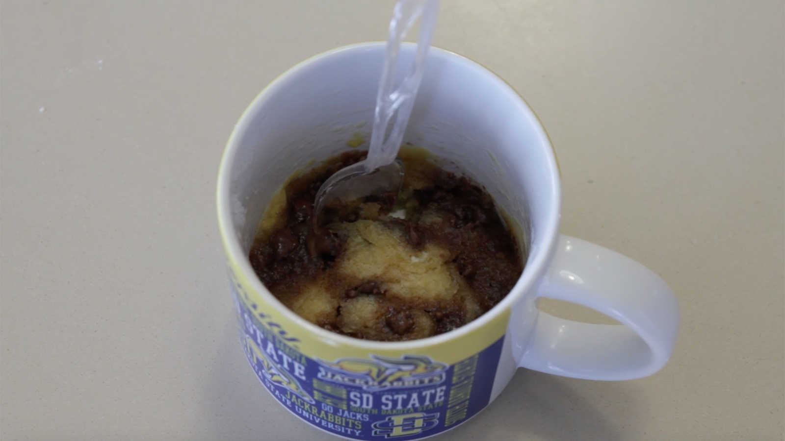 Featured Image for Res Hall Gourmet, Ep. 2.3: Chocolate Chip Cookie in a Cup